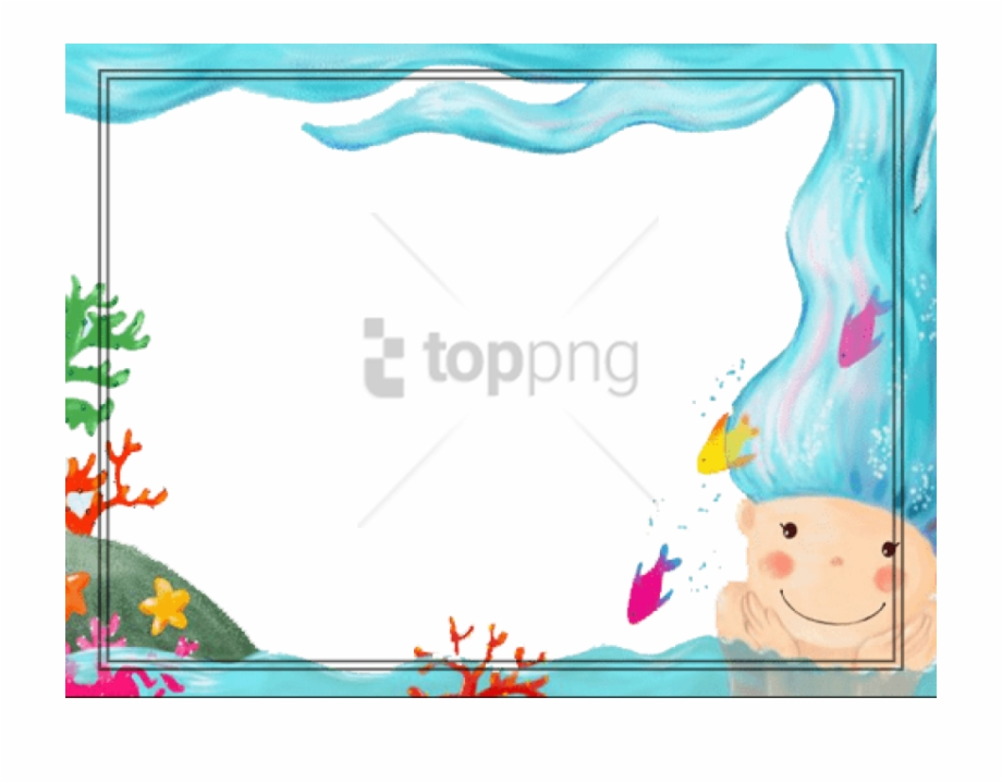 Fundo escolar clipart clip art transparent download Free Png Download Moldura Fundo Do Mar Png Images Background ... clip art transparent download