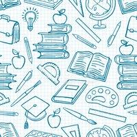 Fundo escolar clipart jpg transparent library Fundo Azul Com Material Escolar imagens vetoriais - Clipart.me jpg transparent library