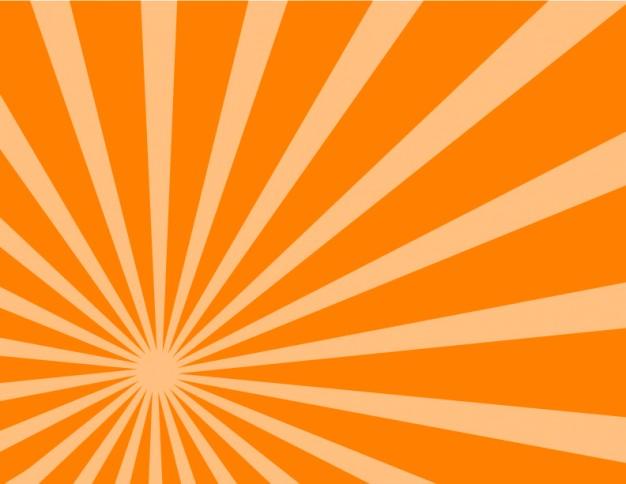 Fundo laranja clipart freeuse stock Fundo laranja sunburst laterais | Baixar vetores grátis freeuse stock