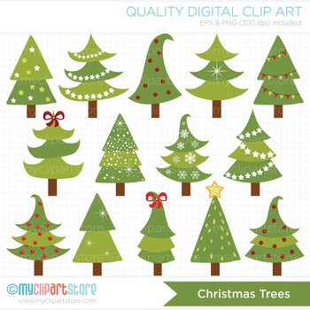 Tree christmas clipart dr suess jpg royalty free stock Clipart - Funky Christmas Trees jpg royalty free stock