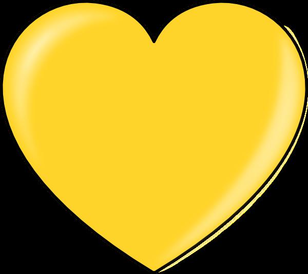 Funky heart clipart clip transparent Golden Hearts Cliparts#216651 clip transparent