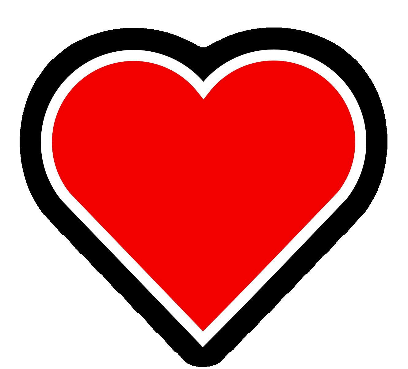 Funky heart clipart jpg transparent stock Heart Png With Border jpg transparent stock