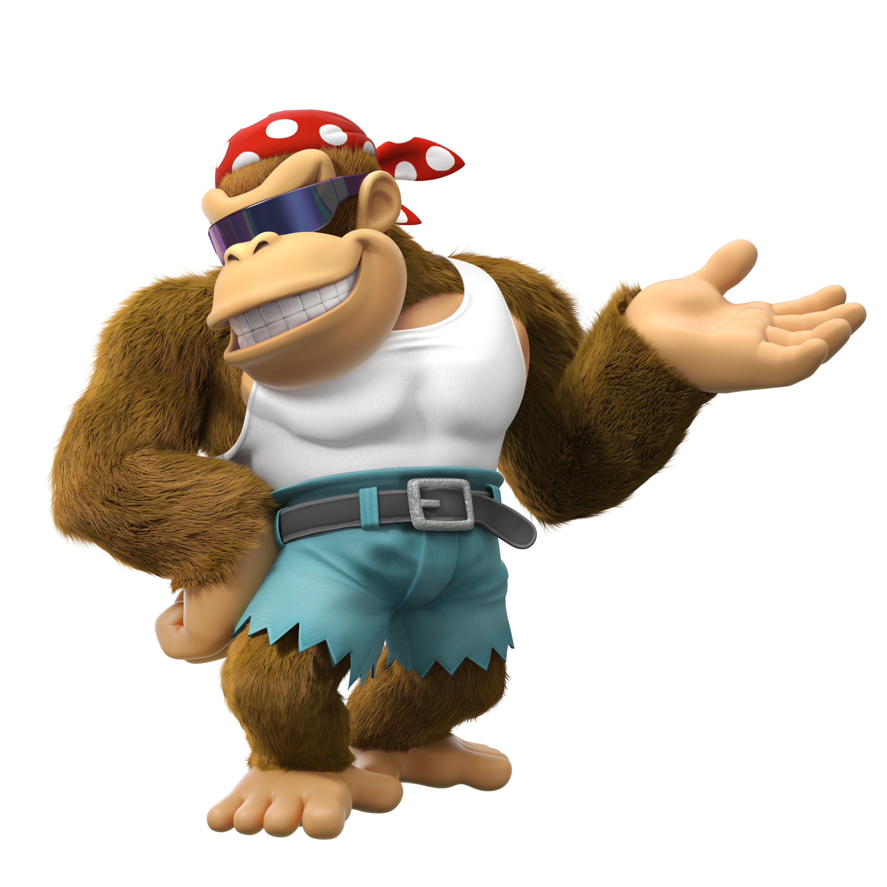 Funky kong clipart