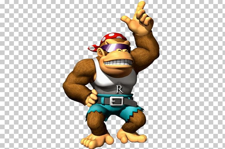 Funky kong clipart vector black and white library Donkey Kong Country Mario Kart Wii Super Mario Bros. PNG, Clipart ... vector black and white library