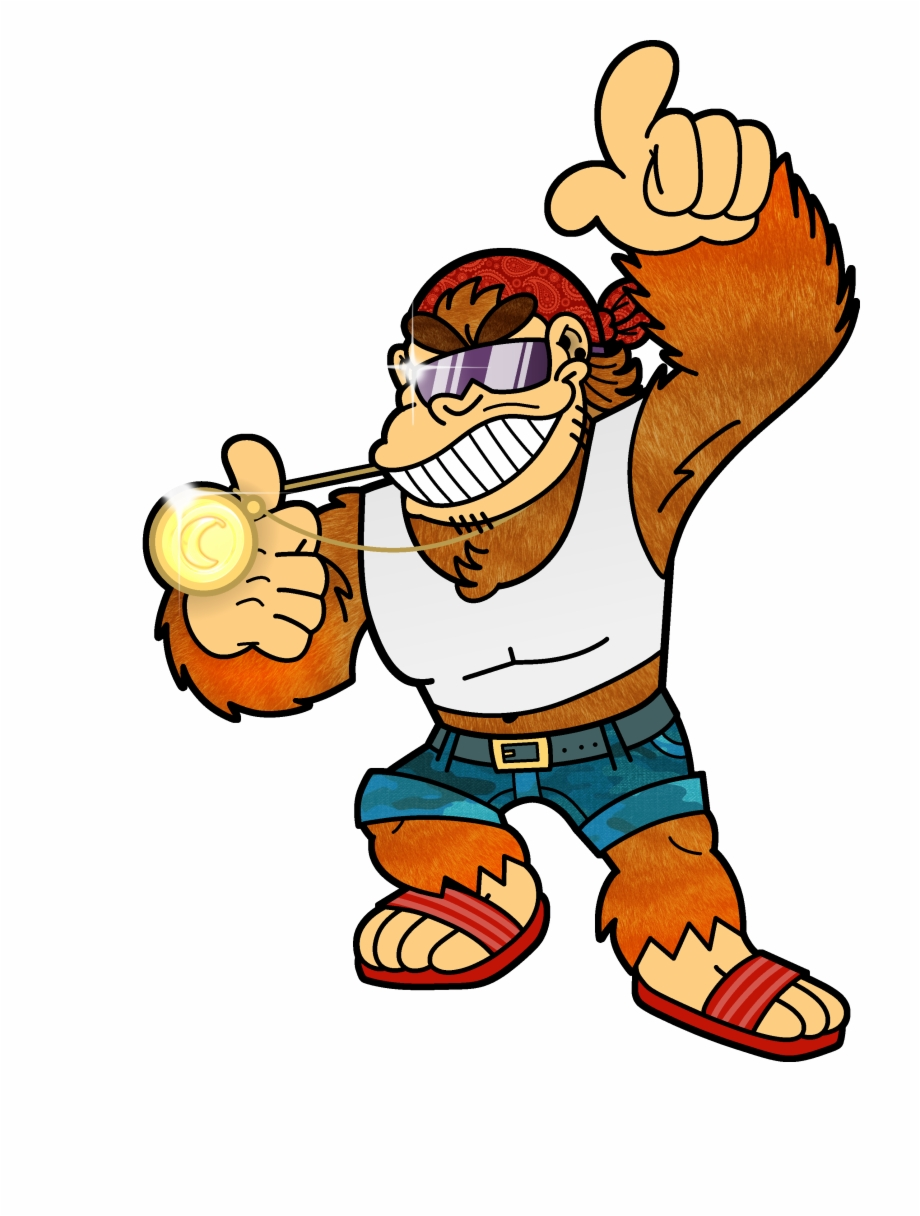 Funky kong clipart freeuse stock Funky Kong Free PNG Images & Clipart Download #3198203 - Sccpre.Cat freeuse stock