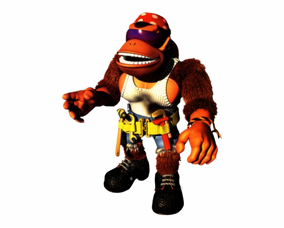 Funky kong clipart jpg free Funky Kong Artwork - Funky Kong Donkey Kong Country 3 Free PNG ... jpg free