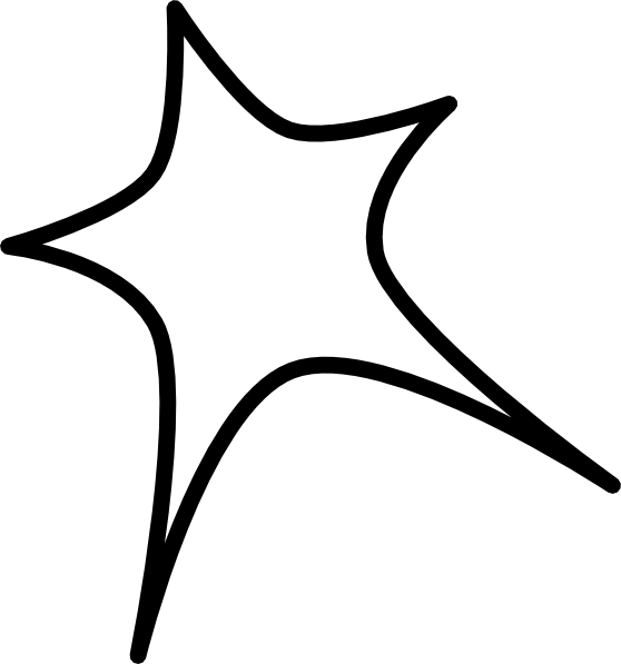 Outline star clipart graphic freeuse download Star Sign Outline Clip Art at Clker.com - vector clip art online ... graphic freeuse download