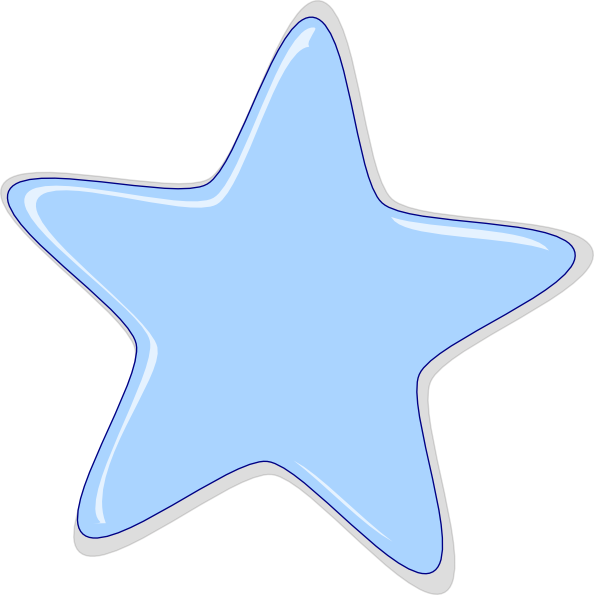 Peach star clipart picture free download Blue Star Clip Art at Clker.com - vector clip art online, royalty ... picture free download