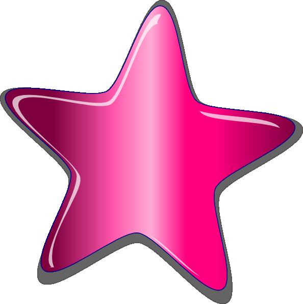 Peach star clipart image transparent library Funky Star Clip Art at Clker.com - vector clip art online, royalty ... image transparent library