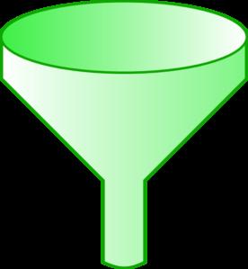 Funnel clipart free clip transparent download Green Funnel clip art - vector | Clipart Panda - Free Clipart Images clip transparent download