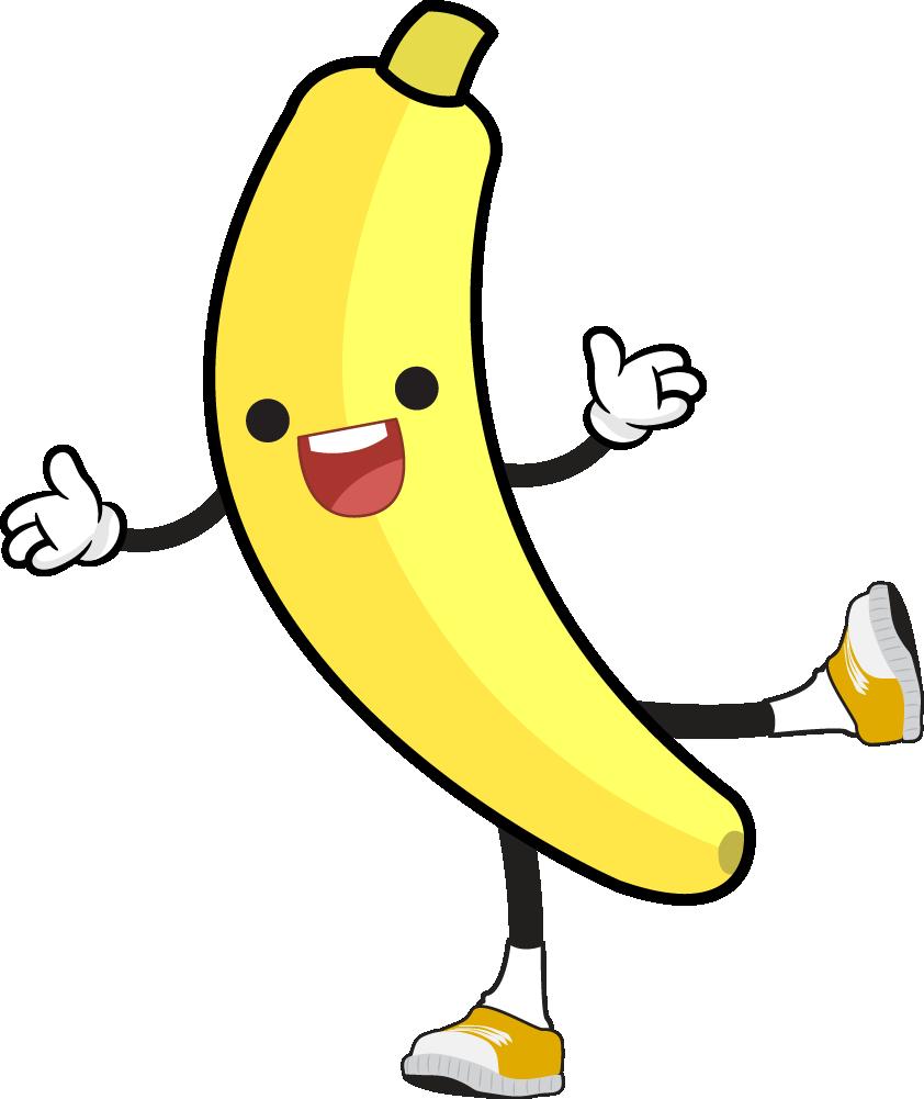 Funny banana clipart clip black and white stock Banana funny clipart fruit clip art - Cliparting.com clip black and white stock