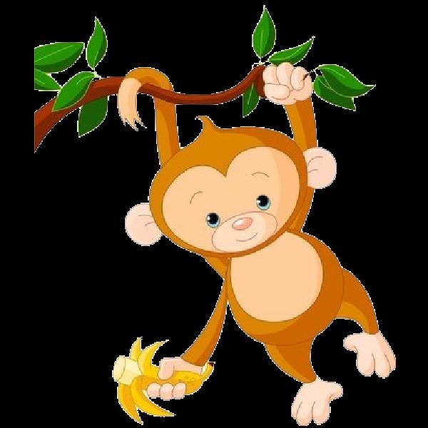Funny baseball clipart image black and white library baby monkey clip art cute funny cartoon ba monkey clip art images ... image black and white library