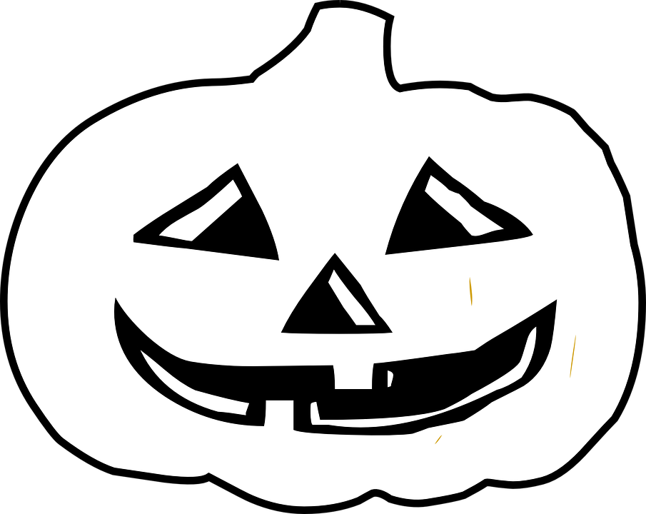 Funny black and white halloween pumpkin clipart clip art transparent library Black And White Halloween Pictures Collection (62+) clip art transparent library