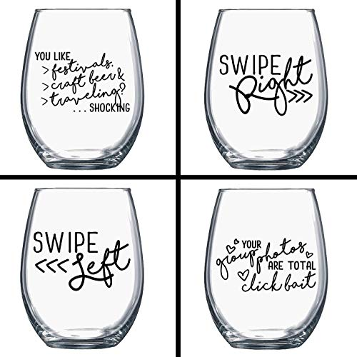 Funny buy one get one free clipart graphic royalty free ON SALE! BUY 3 GET 1 FREE - Funny Wine Glasses - Single Ladies Wine Glasses  - Quotes on Wine Glass - Wine Gift - Gift for Her - Gift for Best Friend -  ... graphic royalty free