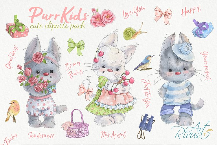 Funny buy one get one free clipart royalty free Digital cute kitten kitty cat clipart. Funny clip art pack royalty free