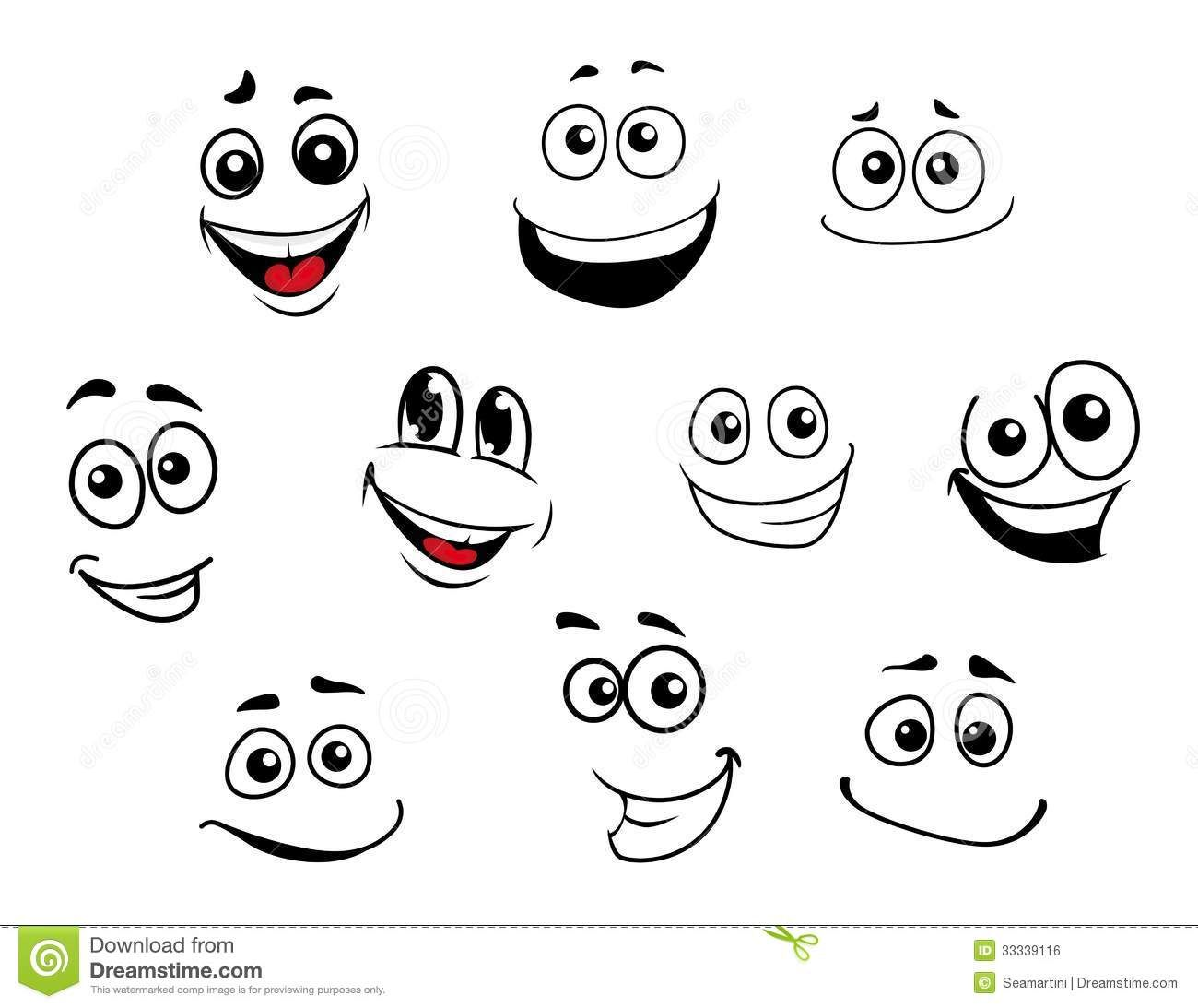 Funny cartoon face clipart clipart library library faces cartoon - Google Search | Emotions | Funny cartoon faces ... clipart library library
