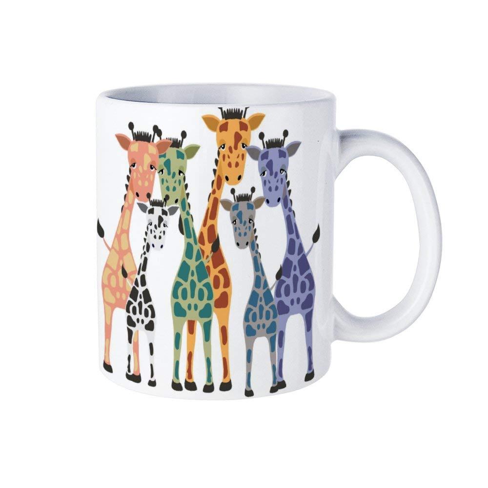 Funny coffee mug clipart library Amazon.com   DKISEE Giraffe Clipart Printable Coffee Mug - 11 Ounces ... library