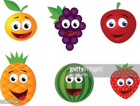 Funny fruit clipart image free stock Funny Fruit Character premium clipart - ClipartLogo.com image free stock