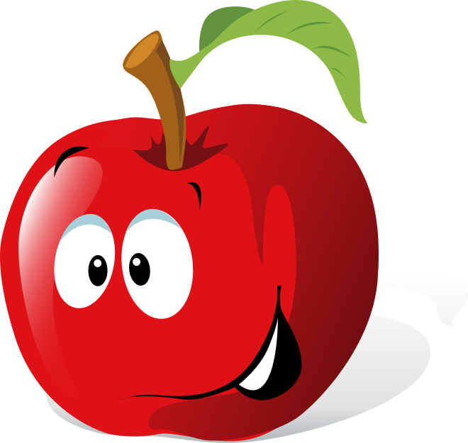 Funny fruit clipart image royalty free download Vegetables Cartoon Faces | Use these free images for your websites ... image royalty free download