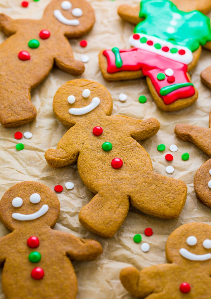 Funny gingerbread man on cookie sheet clipart png freeuse stock Brown Butter Gingerbread Men png freeuse stock