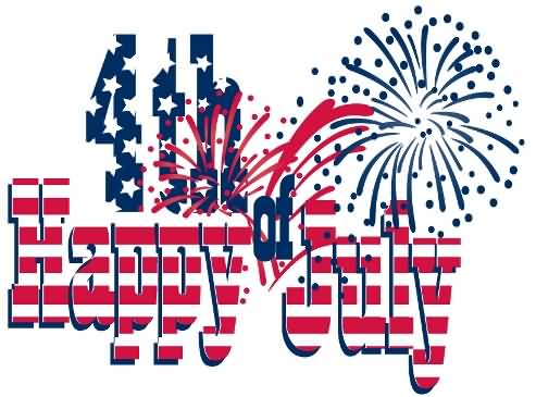 Funny happy 4th of july clipart image black and white Happy Fourth Of July Clipart | Free download best Happy Fourth Of ... image black and white