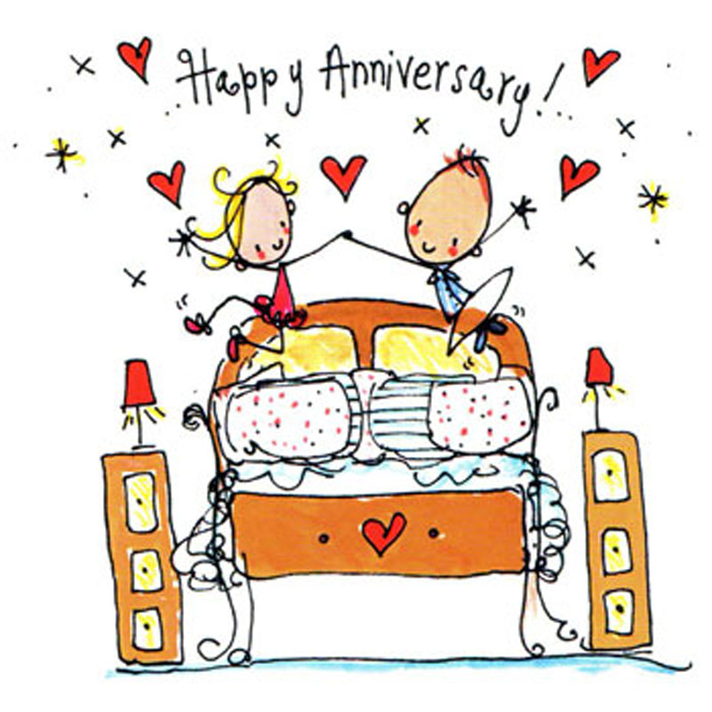 Funny happy anniversary clipart image black and white stock anniversary funny cartoon image black and white stock