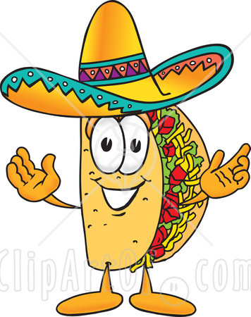 Funny mexican clipart image transparent Funny Taco Clip Art Mexican   Clipart Panda - Free Clipart Images image transparent