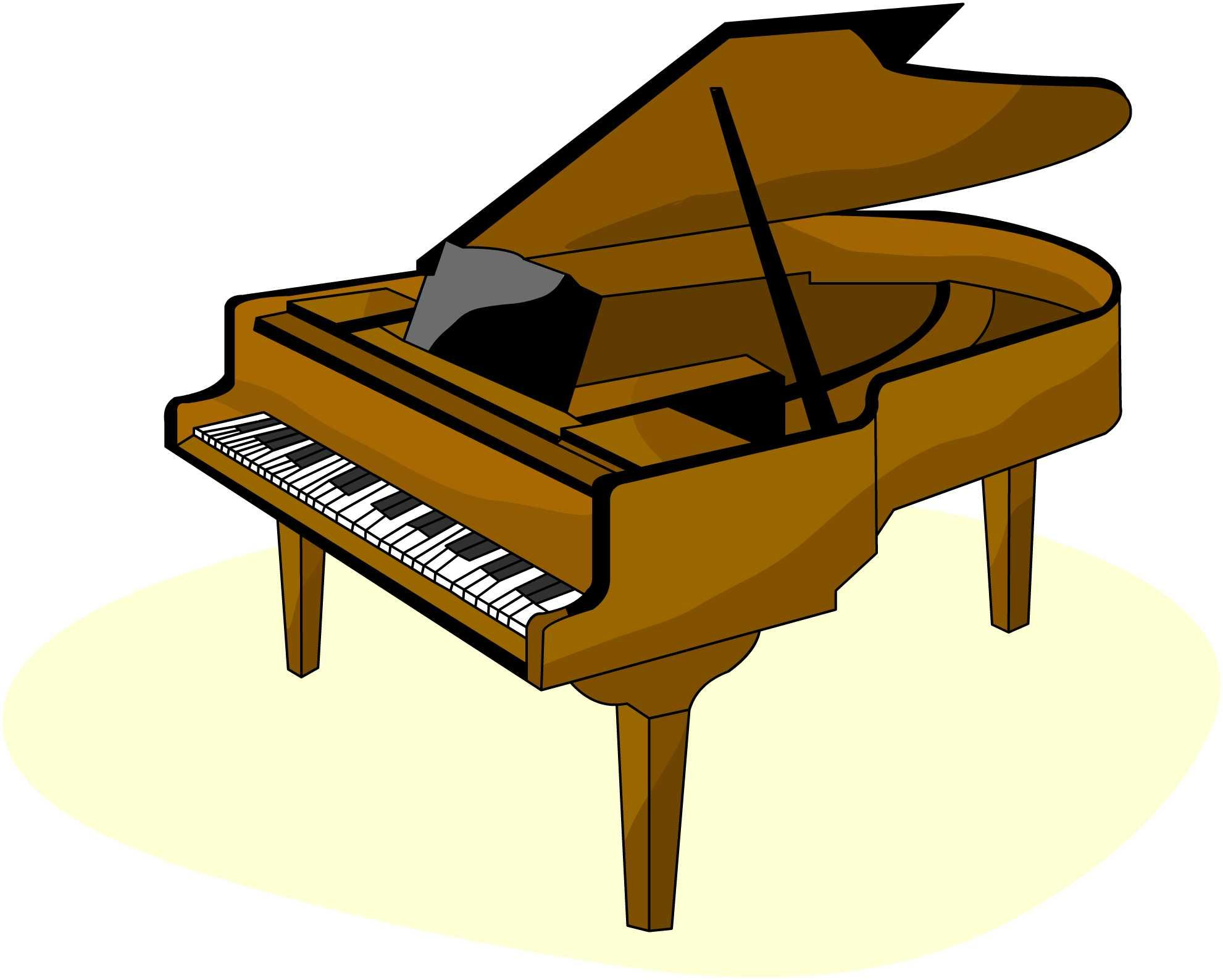 Jazz piano clipart image transparent Free Piano Cartoon Cliparts, Download Free Clip Art, Free Clip Art ... image transparent
