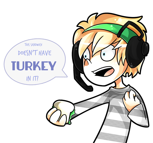 Funny turkey and ham sandwich clipart graphic black and white library YOU F*CKING DISGRACE by Arkeresia on DeviantArt graphic black and white library