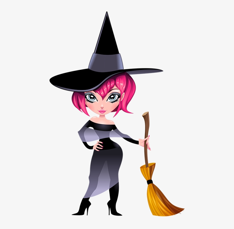 Funny witch clipart vector Feet Clipart Witch - Funny Witch PNG Image | Transparent PNG Free ... vector