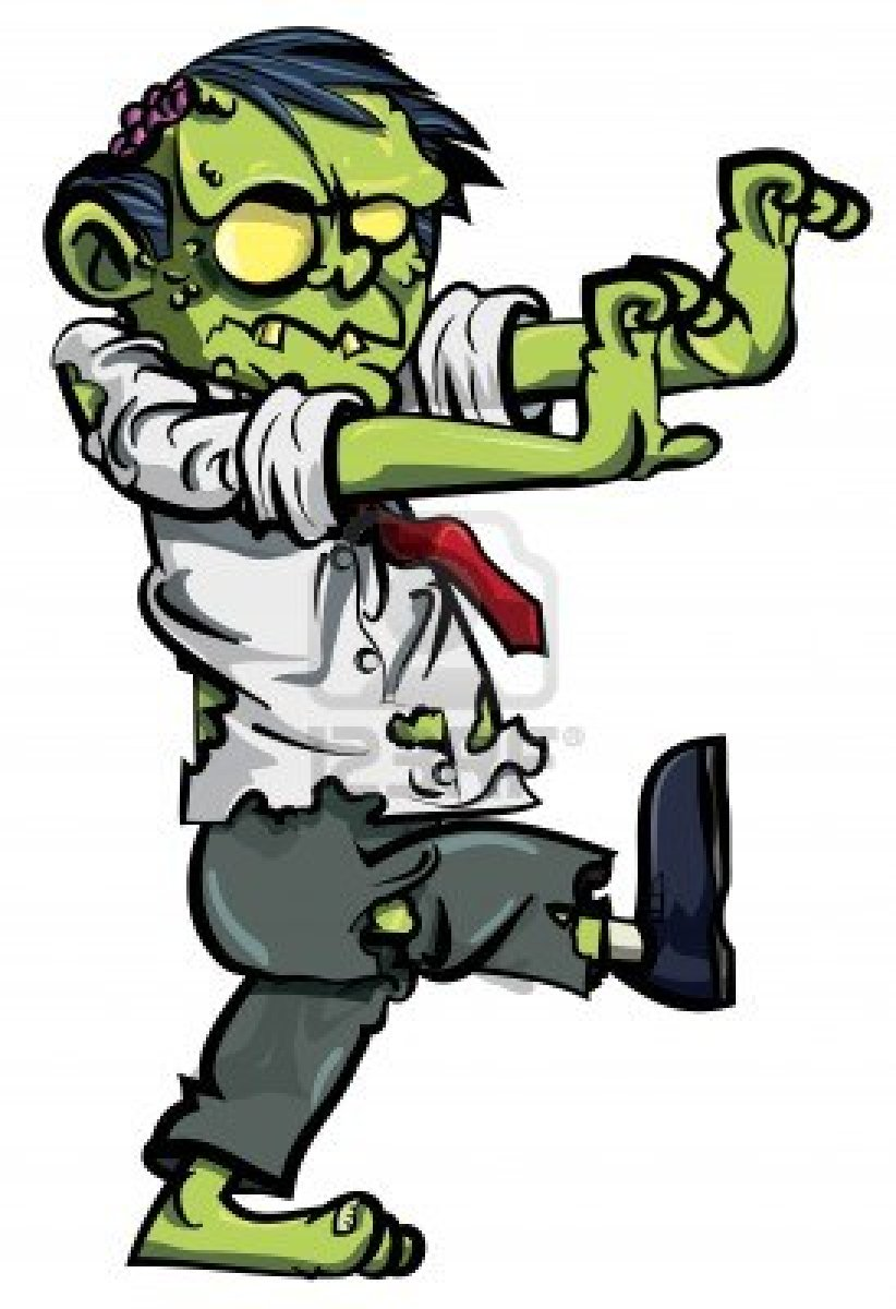 Funny zombie clipart svg Zombie Clipart Black And White | Free download best Zombie Clipart ... svg