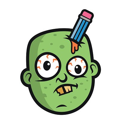 Funny zombie clipart graphic transparent download Art Funny Zombie Head premium clipart - ClipartLogo.com graphic transparent download