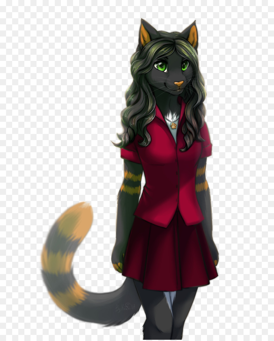 Furry cat girl clipart vector royalty free Furry Drawing png download - 715*1116 - Free Transparent Cat png ... vector royalty free