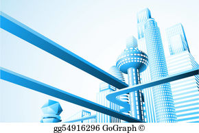 Future city clipart clipart freeuse Future City Clip Art - Royalty Free - GoGraph clipart freeuse