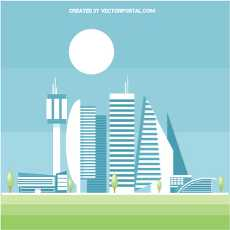 Future city clipart transparent library future city clipart free vectors -422 downloads found at Vectorportal transparent library