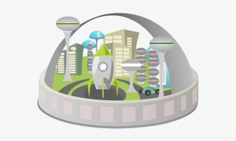 Future city clipart jpg library download Futuristic Clipart Future City - Future City Clip Art Transparent ... jpg library download