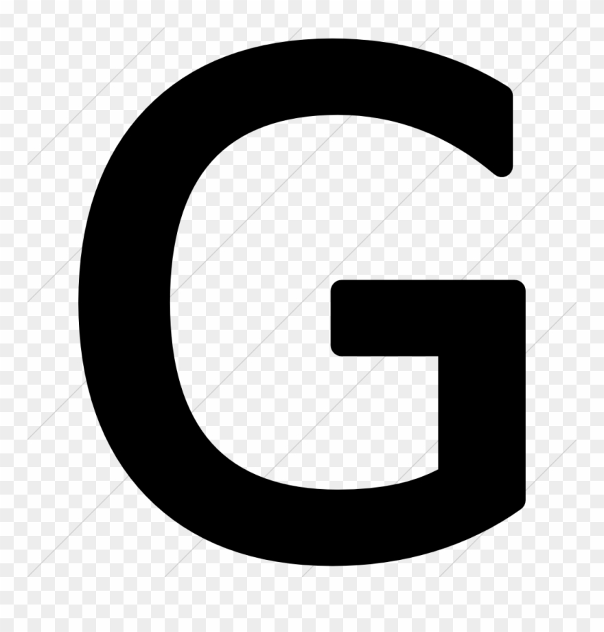 G icon clipart graphic freeuse stock Png Icons Letter - Letter G Black Png Clipart (#1542902) - PinClipart graphic freeuse stock