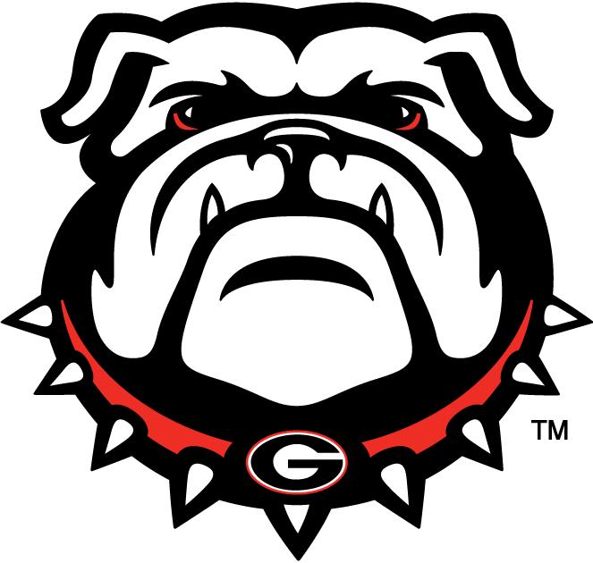 Georgia bulldog clipart free svg royalty free library georgia bulldogs | Georgia Bulldogs Secondary Logo - NCAA Division I ... svg royalty free library