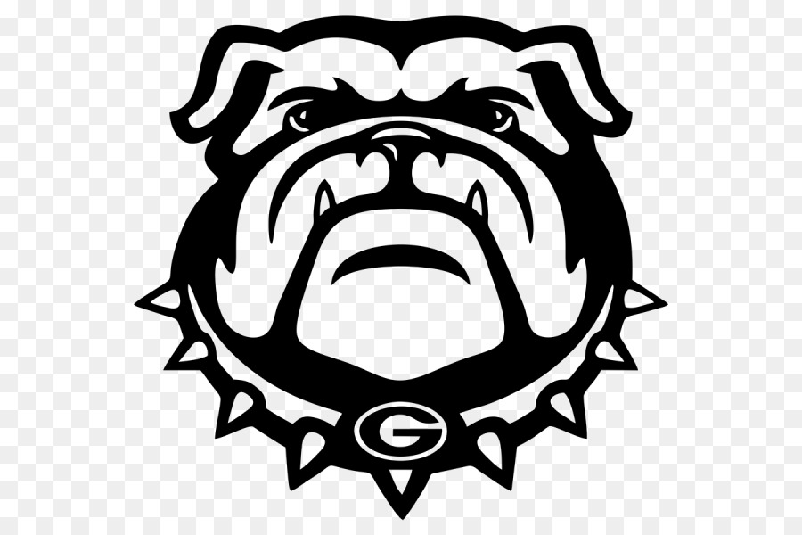 Ga bulldog drawings black & white clipart png freeuse American Football Background png download - 600*600 - Free ... png freeuse