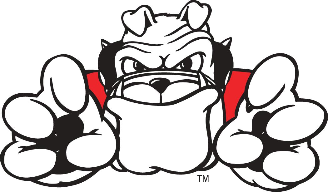 Ga bulldog drawings black & white clipart svg transparent stock Football Bulldog Drawing   Georgia Bulldogs Mascot Logo - NCAA ... svg transparent stock