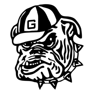 Ga bulldog drawings black & white clipart black and white Georgia Bulldog Drawing Bulldogs Transparent Clipart Free Png - AZPng black and white