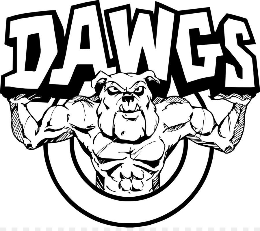 Ga bulldog drawings black & white clipart picture transparent Georgia Bulldogs png download - 1600*1401 - Free Transparent Bulldog ... picture transparent