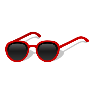 Gafas clipart graphic black and white Sunglasses clipart, cliparts of Sunglasses free download (wmf, eps ... graphic black and white