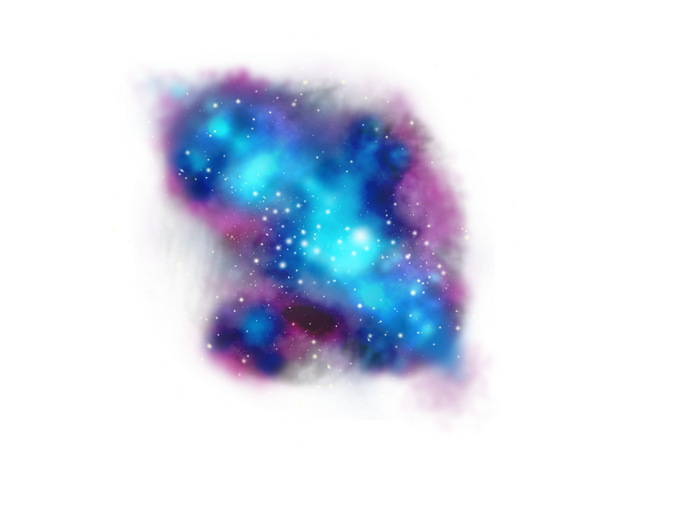 Galaxy star clipart image royalty free download FreeToEdit clipart png stars galaxy with a transparent... image royalty free download