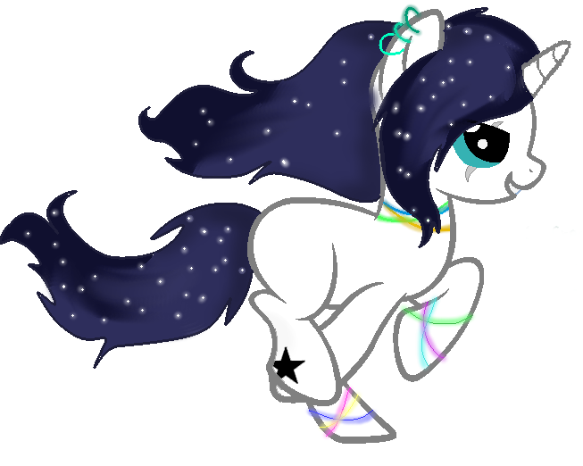 Galaxy star clipart svg black and white library Image - Galaxy Star.png | Bronies Wiki | FANDOM powered by Wikia svg black and white library