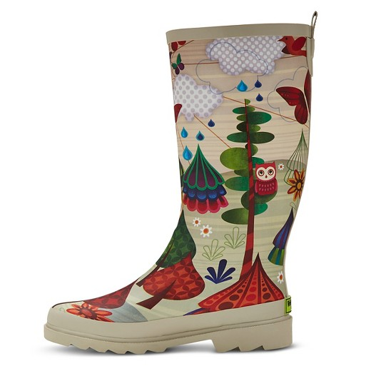 Galoshes target clipart black and white stock Western Chief® Women's Forrest Friends Matte Rain Boots : Target clipart black and white stock