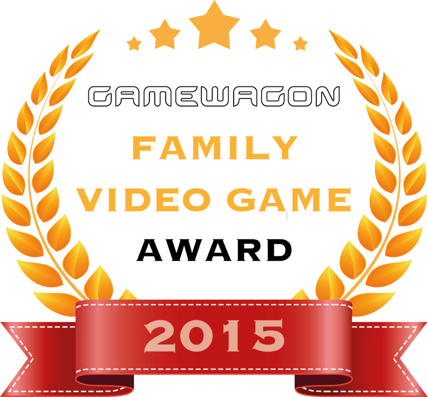 Game awards 2015 clipart graphic freeuse download Game Wagon Family Video Game Award 2015 | Gamewagon the UK\'s ... graphic freeuse download