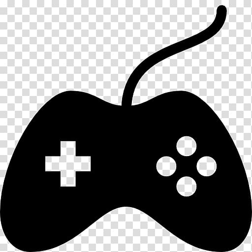 Game controller clipart atari black and white banner royalty free library Joystick Computer Icons Game Controllers Video game, joystick ... banner royalty free library