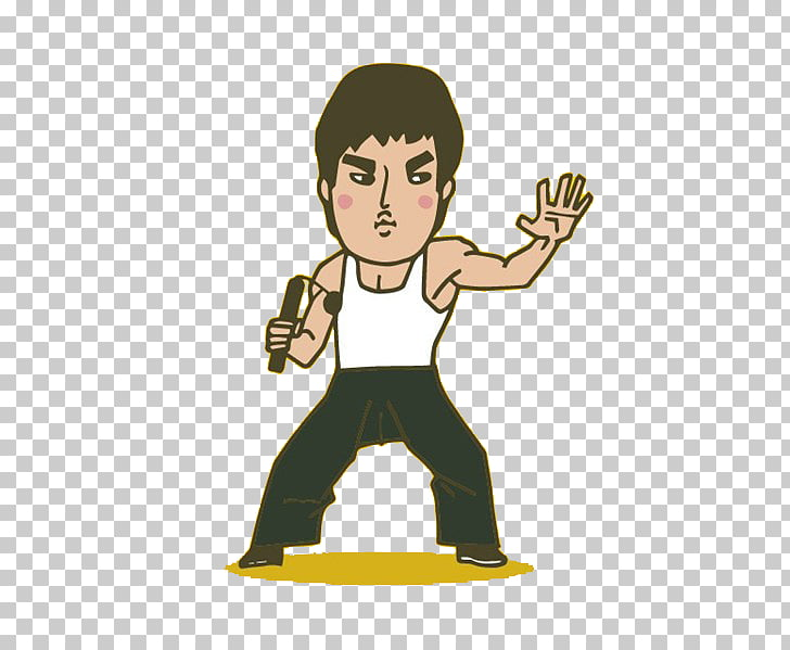 Game of death clipart graphic royalty free stock Bruce Lee The Game of Death Q-version Cartoon, Bruce Lee classic ... graphic royalty free stock