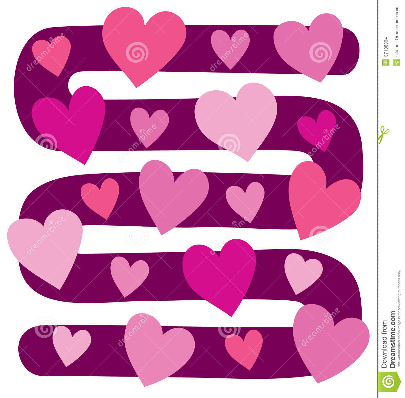 Game of hearts clipart jpg library library Vector Illustration Of Board Game With Hearts Stock Images - Image ... jpg library library